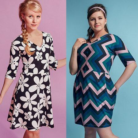 Jeden střih, dvoje šaty