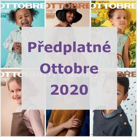 Předplatné Ottobre pro rok 2020